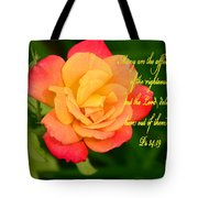 Psalm 34 V 19 Tote Bag