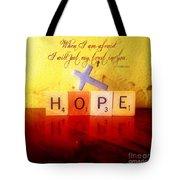 Psalm 56 3 Tote Bag