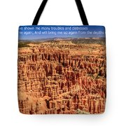 Psalm 71 Tote Bag