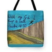 Art Therapy For Your Wall Psalm Art Tote Bag