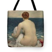 Psamanthe Tote Bag by Frederic Leighton