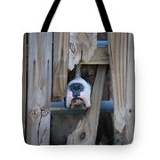 Psst Help Me Outta Here Tote Bag by DigiArt Diaries by Vicky B Fuller