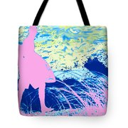 Psychadelic  Beach Tote Bag