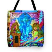 Psychdelic Rockers Tote Bag