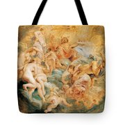 Psyche Taken Up Into Olympus Tote Bag
