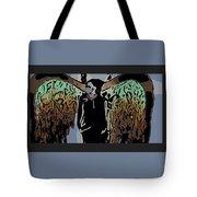 Psychedelic Angel Tote Bag