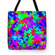 Psychedelic Butterflies Tote Bag