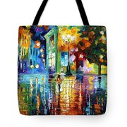 Psychedelic City Tote Bag