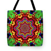 Psychedelic Construct Tote Bag