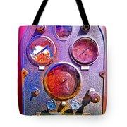 Psychedelic Gauges Tote Bag