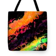 Psychedelic J Tote Bag