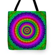 Psychedelic Journey Tote Bag