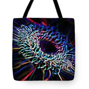 Psychedelic Neon Tote Bag