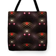 Psychedelic Pattern Tote Bag