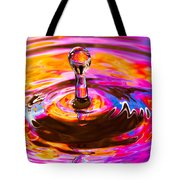 Psychedelic Water Drop Tote Bag