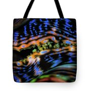 Psychedellic Clam Tote Bag