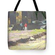 Psychodelic Wasteland Tote Bag