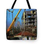 Psycho Plovdiv Crane Tote Bag