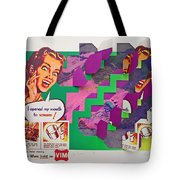 Psycho Scream Tote Bag