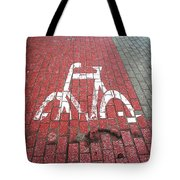 Psychosis. Funny Sign. Tote Bag