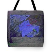 Psychowarhol Blue Tote Bag