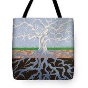 Psycodelic Tree Tote Bag