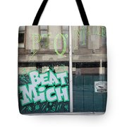 Pt O'maleys Beat Mich Tote Bag
