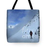 Ptarmigan Pass North - Glacier National Park Tote Bag