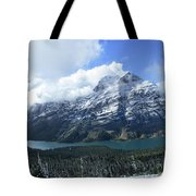 Ptarmigan Trail Overlooking Elizabeth Lake 5 - Glacier National Park Tote Bag