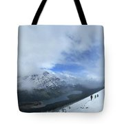 Ptarmigan Trail Overlooking Elizabeth Lake - Glacier National Park Tote Bag