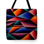Pterodactyl Cubed Tote Bag