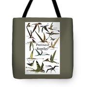 Pterosaur Reptiles Tote Bag