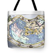 Ptolemaic World Map, 1493 Tote Bag