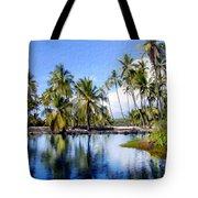 Pu Uhonua O Honaunau Pond Tote Bag