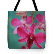 Puanani Kealoha Dendrobium D Burana Red Flame Hawaiian Orchid Tote Bag