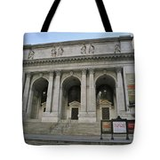 Public Library New York City Tote Bag