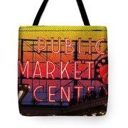 Public Market Mosaic 2 Tote Bag