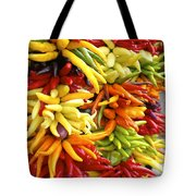 Public Market Peppers Tote Bag