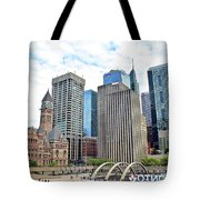 Public Park In The Heart Of Toronto Tote Bag