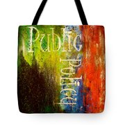 Public Policy Tote Bag