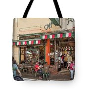Puccini Tote Bag by Kate Brown