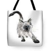 Pudsquiz Belina On The Prowl  Tote Bag