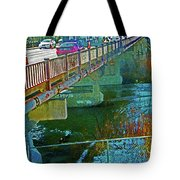 Pueblo Downtown--4th Street Bridge Tote Bag