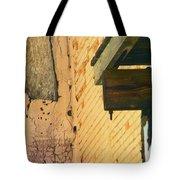 Pueblo Downtown-ancient Ruins Tote Bag