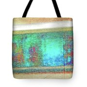 Pueblo Downtown Artwork Reflected Tote Bag