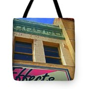 Pueblo Downtown-screened Effects Tote Bag