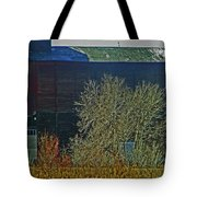 Pueblo Downtown-sweeny Feed Mill 6 Tote Bag by Lenore Senior