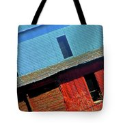 Pueblo Downtown--sweenys Feed Mill Tote Bag by Lenore Senior