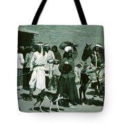 Pueblo Indian Village Tote Bag