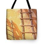 Pueblo Ladders Tote Bag